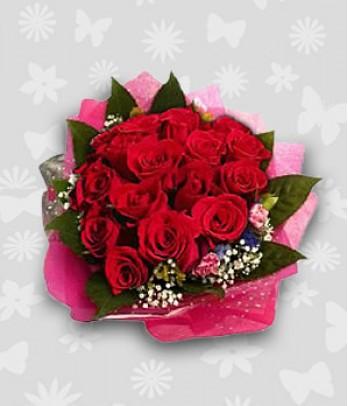 18 Red Ecuadorian Roses