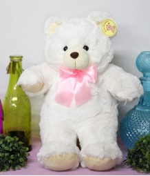 12 inches White Teddy Bear